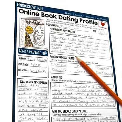 Online date with a book student assignment for independent reading