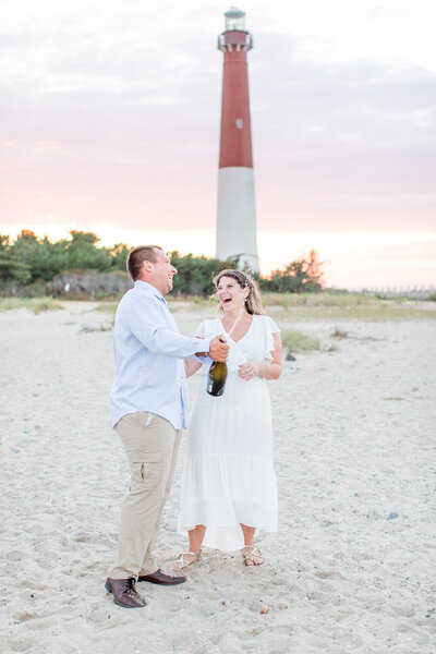 Barnegat Lighthouse Engagement Session-5