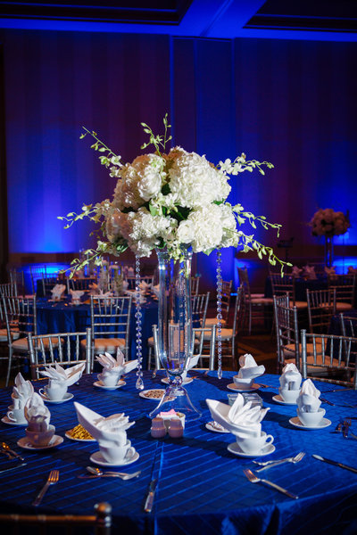 Wedding Tall Floral Centerpiece