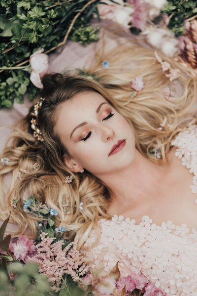 Sleeping Beauty Bridal Styled Shoot Gallery
