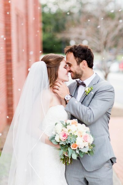 Bride and Groom portraits at The Conservatory at Waterstone