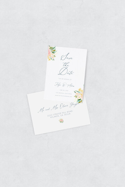 pirouettepaper.com | Wedding Stationery, Signage and Invitations | Pirouette Paper Company | Semi Custom Invitations | The Alice  12