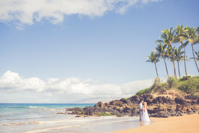 Maui beach Wedding Venue - Poolenalena BeachMaui beach Wedding Location - Poolenalena Beach Hawaii