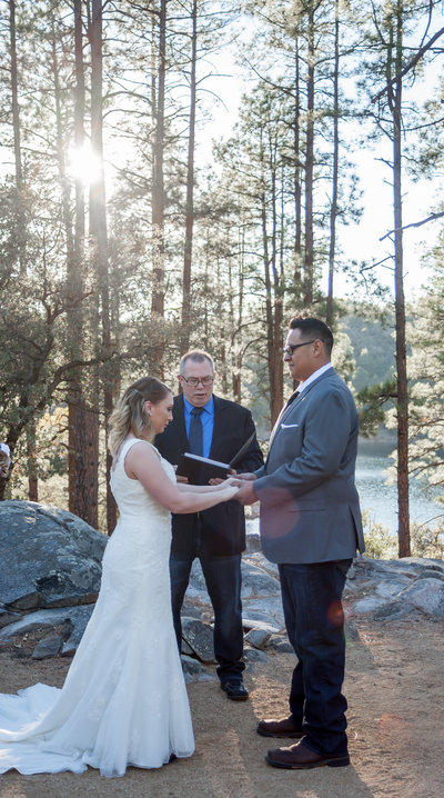 Goldwater Lake Wedding