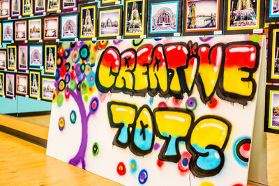 creative tots- graffiti art