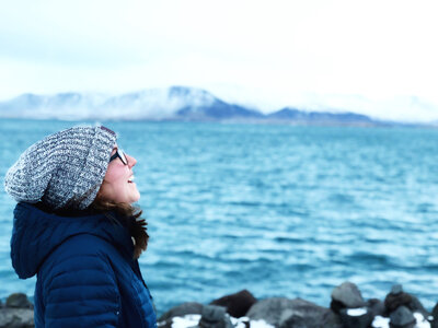 Kolbie loves to travel, and Iceland is one of her favorites