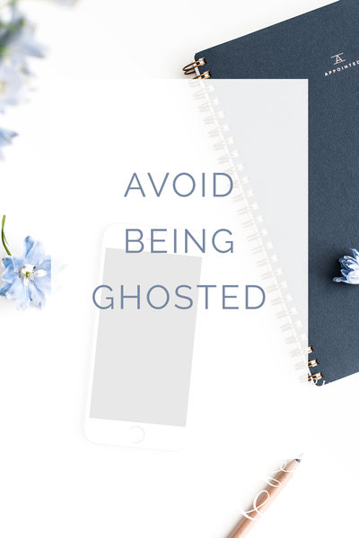 Avoid Being Ghosted