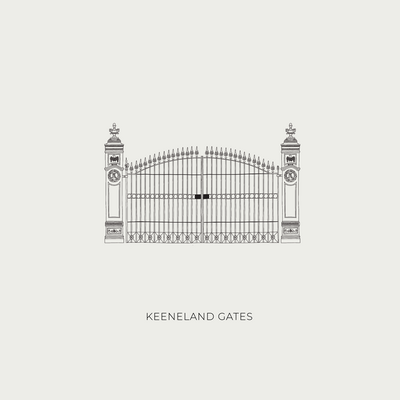 Illustration Shop - Keeneland Gates