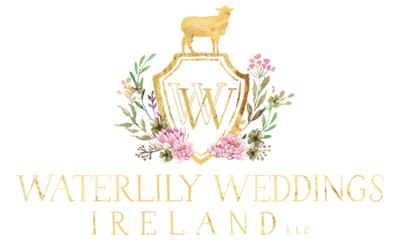Ireland & US Wedding Coordinator, Gold Waterlily Weddings Logo