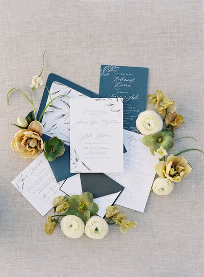pirouettepaper.com | Wedding Stationery, Signage and Invitations | Pirouette Paper Company | Invitation Styling and Flatlays | Sposto Photography 119