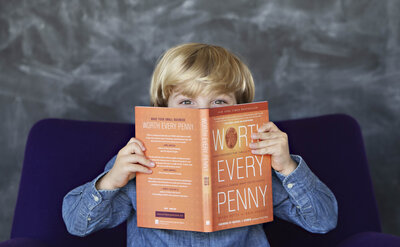 Worth Every Penny is a book by Sarah Petty that teaches how to build a profitable photography business.