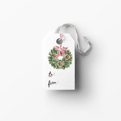 wreath tag mockup low res