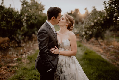 Stephanie + Cody Winery Wedding | Tin Sparrow Events + MimiKate  Photography