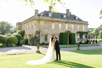 wedding portrait at babington house