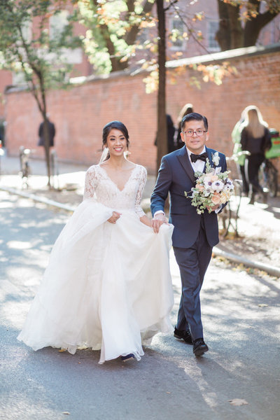 Ingrid & Martin - NYC Fall Wedding - Verve Event Co (81)