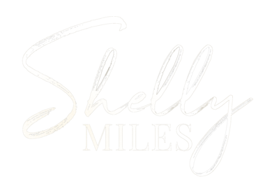 shelly miles logo white