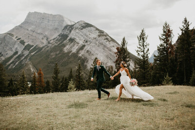 Tunnel Mountain Meadow Banff Elopement1635
