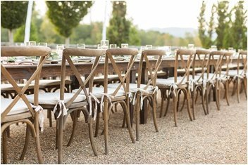 french coutryside wedding reception at Hotel Domestique