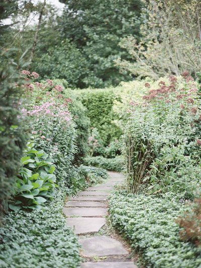 Garden Path at Old Edwards Inn in Highlands, NC