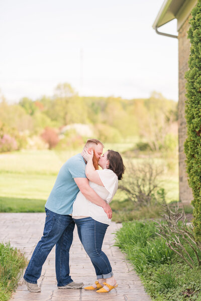 Secrest Arboretum Engagement Photographer