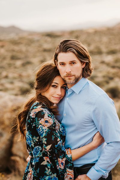 Arizona Engagement Parker Micheaels Photography-1-2