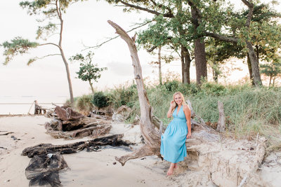Audrey Senior Portraits Cape Charles August 2018 Leah Baggett Photography-175
