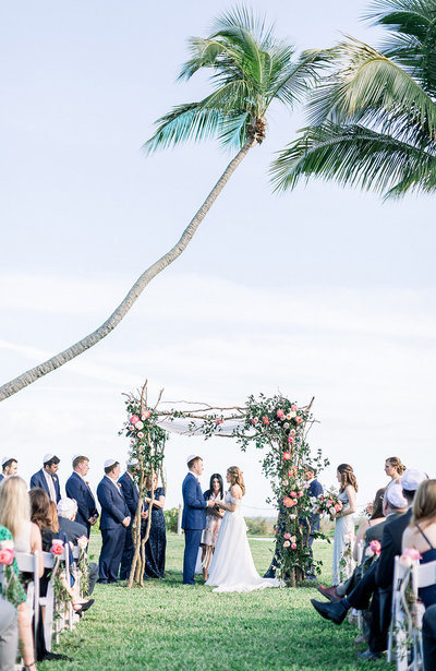 Casa Ybel Wedding Ceremony by Sanibel Destination Wedding Photographer