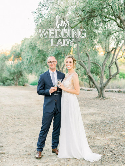 Press Badge-Ranch-House-At-Del-Sur-Wedding