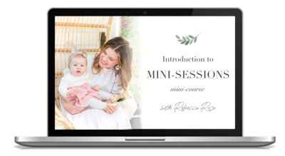 Intro To Mini-Sessions Product Image