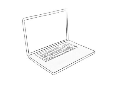 computer+drawing+outline