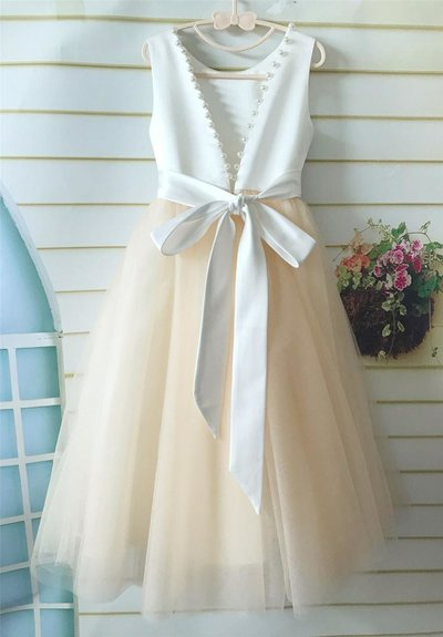 Forever Bridal Flower Girl Dress 1
