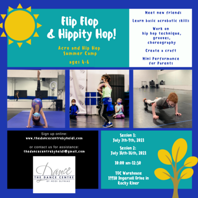 Post_ TDC Summer Acro and Hip Hop Camp