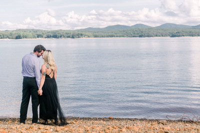 Engagement session with Georgia couple captured by Staci Addison Photography