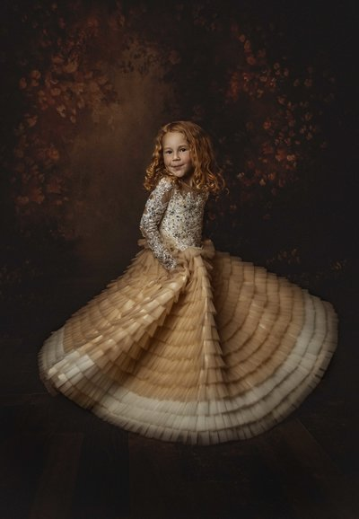 Toddler-Couture Gown-Child Photography-Dallas