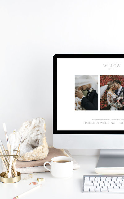 Willow - With Grace and Gold - Showit Template, Showit Templates, Showit Theme, Showit Themes, Showit Design, Showit Designs, Showit Designer, Showit Designers - Photo - 1