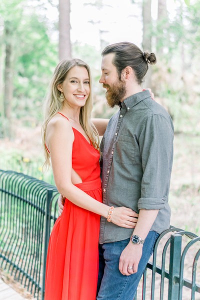 Chelsea + Jon Anniversary at Mercer Botanic Gardens | Houston, TX | Jessica Lucile Photography