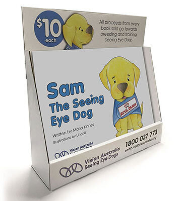 Vision Australia Sam the Seeing Eye Dog Book by The Brand Advisory