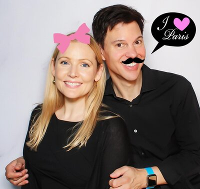 LOS GATOS PHOTO BOOTH - Digital Props Examples - I Love Paris - Photobooth copy