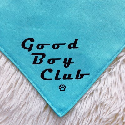Good Boy Club Bandana for Dogs from The Brunchin' Pup
