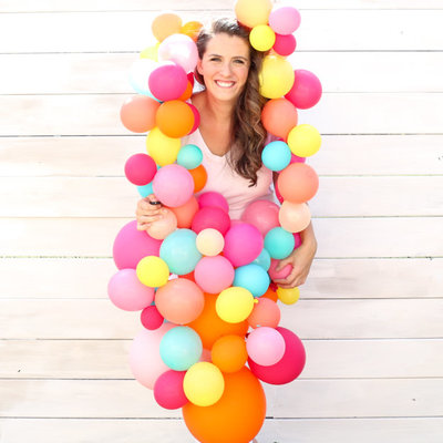 balloon garland costume-5