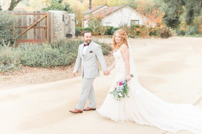 Gilroy CA Romantic Winery Wedding