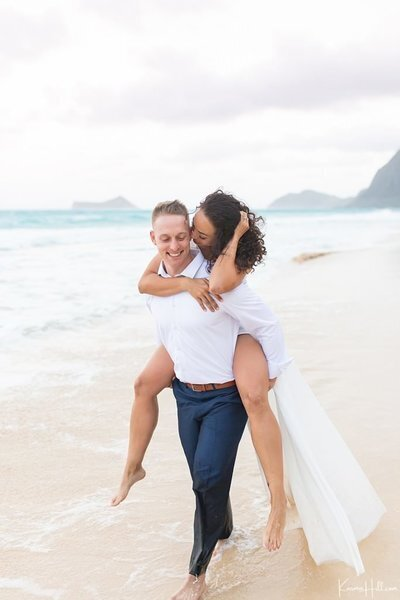 Featured Oahu Beach Wedding