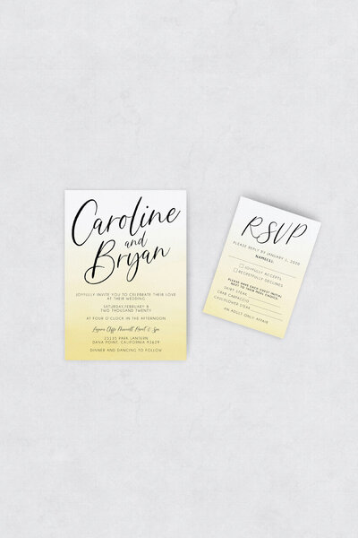 pirouettepaper.com | Wedding Stationery, Signage and Invitations | Pirouette Paper Company | Semi Custom Invitations | The Charm 01
