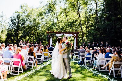 Cedar Springs is a wedding venue in the Seattle area, Washington area photographed by Seattle Wedding Photographer, Rebecca Anne Photography.