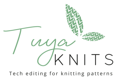 TuyaKnits Leaves Logo