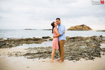Treasure Island Beach Engagement Photos Professional Laguna Beach Orange County Wedding