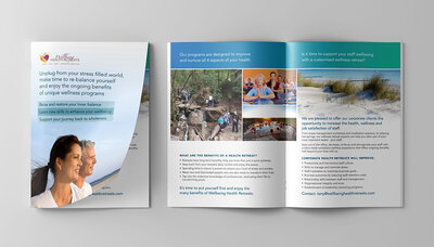 Wellbeing Health Retreats Brochure by The Brand Advisory