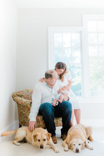 DC Virginia In-home newborn photograpy