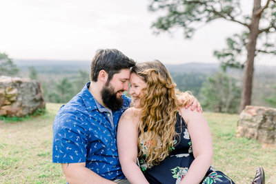 Georgia couple engagement session captured by Staci Addison Photography