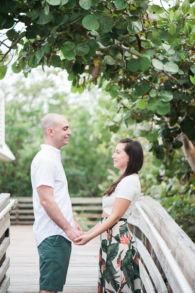 Key Largo Engagement Photography
